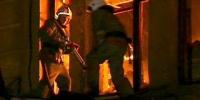 Сегодня утром пожарным Каменска-Уральского пришлось спасать двух жильцов в Покровском