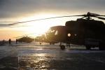 Каменские вертолетчики спасли от авиаудара свой аэродром и разбомбили вражеские танки