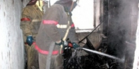 В Каменске-Уральском сгорела кухня частного жилого дома