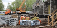 В Синарском районе продолжается строительство двух новых жилых домов