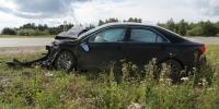 Сегодня под Каменском-Уральским в ДТП пострадали два водителя