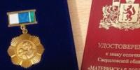 Жительницу Каменска наградили медалью «Материнская доблесть»