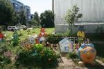 В Каменске определять лучший двор. Правда, самые креативные клумбы уже украли