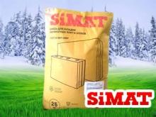 Зимняя и летняя смесь для укладки силикатных плит и блоков SiMAT