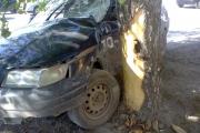 Сегодня утром в Каменске-Уральском в ДТП попала машина такси