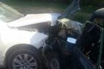 По вине водителя машины, ехавшей из Каменска-Уральского в Екатеринбург, пострадали три человека