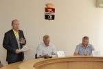 Председателем общественной палаты Каменска-Уральского вновь избрали Геннадия Моисеева