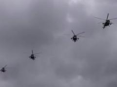 Сегодня летчики из Каменска-Уральского приняли участие в репетиции парада в Екатеринбурге