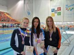 Спортсмены, представляющие Каменск-Уральский, успешно выступили на чемпионате России по подводному плаванию