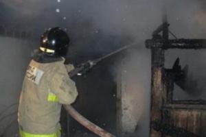 В селе Сосновское под Каменском-Уральским в пятницу произошел пожар