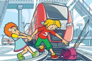 В Каменске-Уральском, как и во всей области, пройдут рейды на железнодорожных магистралях, расположенных в районе учебных заведений