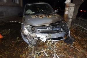 Вчера вечером в Каменске-Уральском пьяный водитель стал виновником аварии