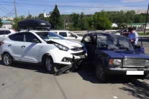В субботу в Каменске-Уральском в аварии пострадали два пенсионера