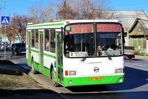 В Каменске-Уральском в автобусе второго маршрута пострадала пассажирка