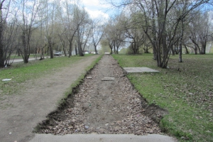 В ближайшие дни начнется восстановление пешеходной зоны на бульваре Парижской Коммуны в Каменске-Уральском