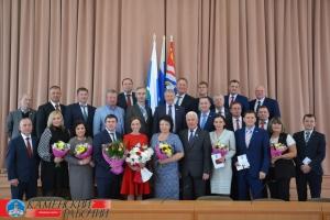 В четверг состоялось первое заседание думы Каменска-Уральского седьмого созыва