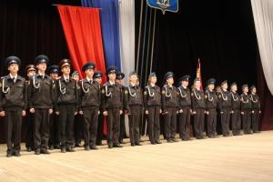 В Каменске-Уральском прошла торжественная церемония посвящения в кадеты