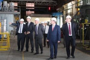 Денис Паслер: «Каменск-Уральский литейный завод реализует очень актуальный проект импортозамещения»