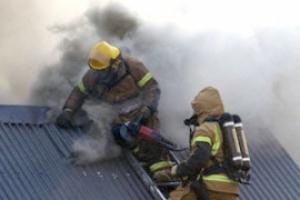 Сегодня вечером в Каменске-Уральском произошел пожар в частном жилом доме на улице Бетонщиков