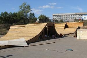 В Каменске-Уральском завершается строительство нового скейт-парка. Открытие – 3 сентября