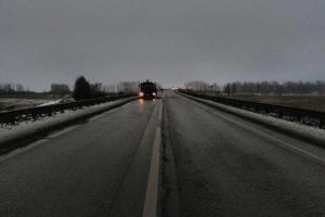 Жителей Каменска-Уральского и всей области призвали сообщать о пешеходах, находящихся на проезжей части в темное время суток