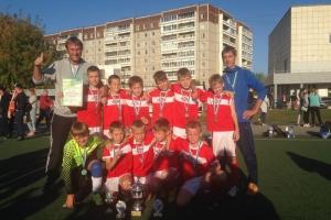 Юные футболисты из Каменска-Уральского выиграли первенство области