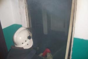 Вчера вечером на улице Железнодорожная в Каменске-Уральском произошел пожар в жилом доме