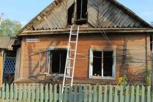 Фотоподробности пожаров минувшей неделив Каменске-Уральском и районе