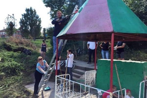В Каменске-Уральском обновили родник возле лыжно-лодочной станции «Металлист»