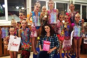 Гимнастки из Каменска-Уральского стали призерами престижного всероссийского турнира