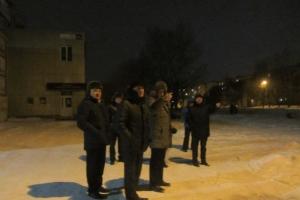 Глава Каменска-Уральского лично проверил, как освещен город в вечернее время