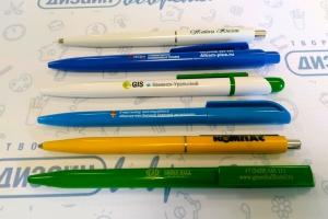 Ручки с вашим логотипом. Каждая десятая – в подарок. Большой ассортимент в наличии и под заказ
