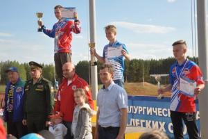 Гонщики из Каменска-Уральского выиграли этап Кубка ДОСААФ России по мотокроссу