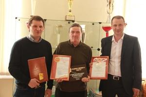 Глава Каменска-Уральского поздравил известного детского тренера Валерия Авдеева с юбилеем