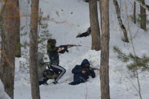 В Каменске-Уральском сегодня прошла первая межрегиональная военно-спортивная игра «Рубеж»