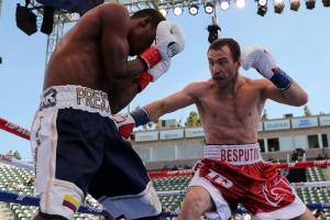 Александр Беспутин из Каменска-Уральского одержал очередную победу на профессиональном ринге