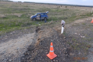 Вчера вечером под Каменском-Уральским в ДТП пострадала 61-летняя автолюбительница
