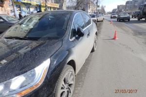 Сегодня днем в Каменске-Уральском 68-летняя автолюбительница сбила пешехода. Видеоподробности ДТП
