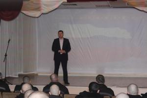 Депутат городской думы Каменска-Уральского посетил колонию. Говорил о ветеранах Афганистана и Чечни