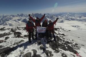 Глава города примет альпинистов из Каменска-Уральского, покоривших самую высокую гору Европы