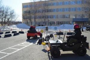 У подростков Каменска-Уральского будет возможность обучиться правилам дорожного движения с помощью мобильного автогородка