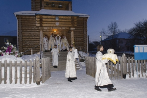 Под Каменском-Уральским освятили новый храм