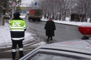 За три дня в Каменске-Уральском и районе совершили нарушения 442 пешехода