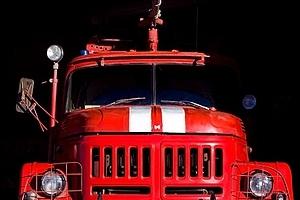 Сегодня утром в Каменске-Уральском пожарных вызвали для тушения автобуса