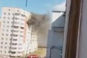 В Каменске-Уральском пьянка завершилась пожаром в многоэтажке. Есть погибшая. Видеоподробности случившегося