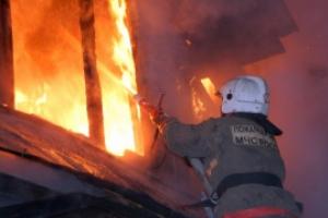 Сегодня, 20 апреля, под Каменском-Уральским, в деревне Кодинка, во время пожара пострадали два частных дома