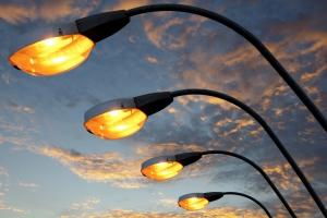 Наружное освещение в Каменске-Уральском в ночь после Дня Победы будет работать до утра