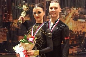 Представители Каменска-Уральского завоевали главный приз международного турнира по спортивным танцам «Кубок губернатора Свердловской области»