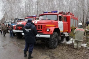 В Каменске-Уральском началась двухдневная командно-штабная тренировка по борьбе с лесными пожарами