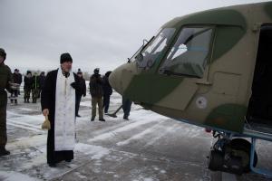 На аэродроме «Радушный» в Каменске-Уральском торжественно освятили новые вертолеты